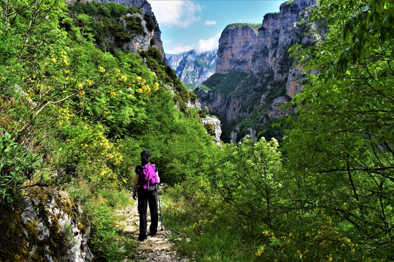 Hiking the Vikos gorge
