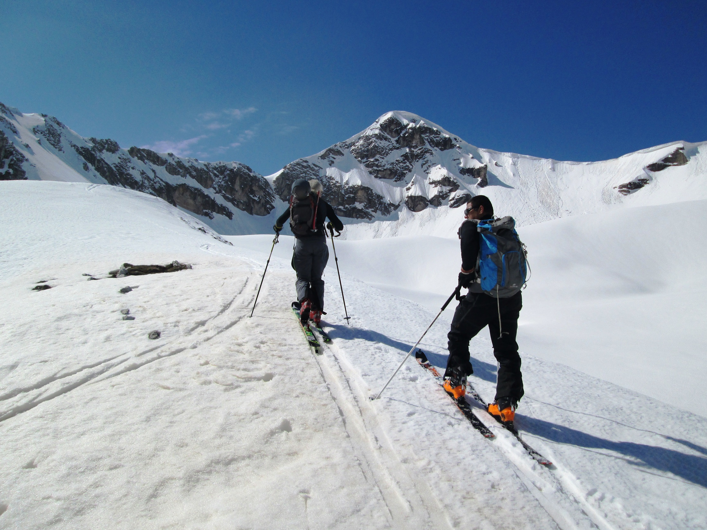 skitouring in Pindos mountains