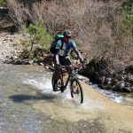 mountainbike in Pindos